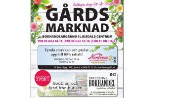 Gårdsmarknad Bokhandlargränd